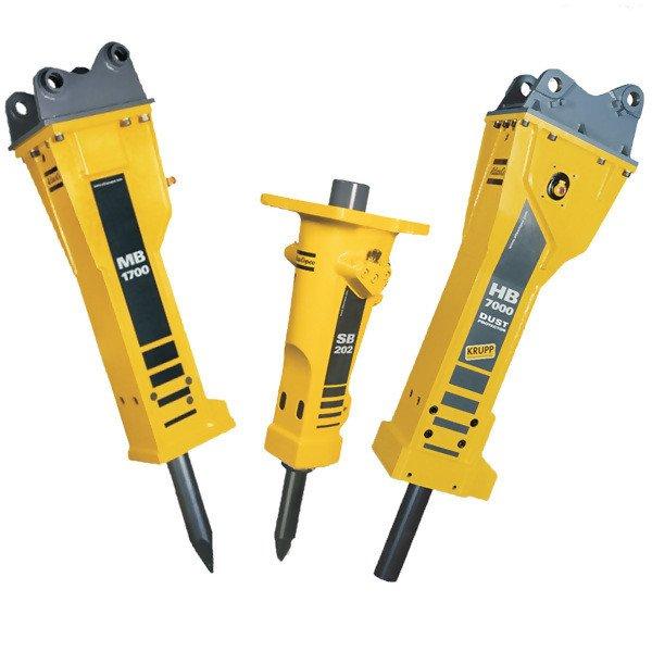 Epiroc hydraulic attachments